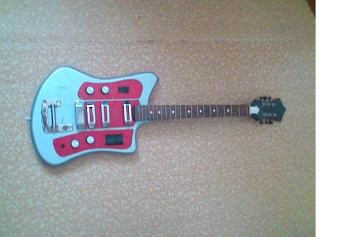 Гитара находилась в плачевном