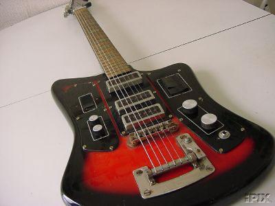 Гитара, восставшая из пепла.