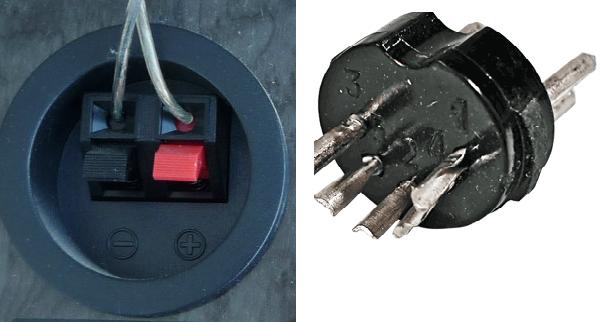 """Возникла необходимость спаять кабель для подключения колонок вот с этим разъемом для подсоединения к  """"Электрону """"."""