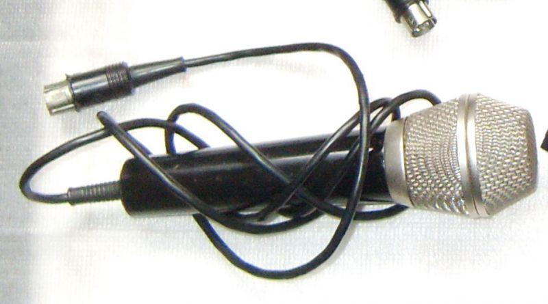 микрофон мкэ-9 схема подключения
