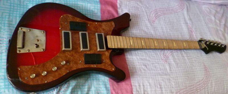 Схема исправна, гитара