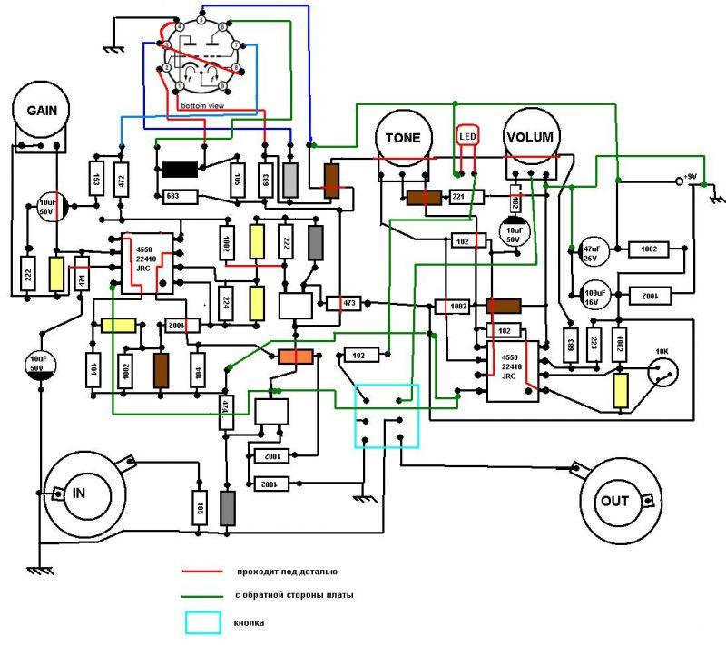 Лель эквалайзер схема